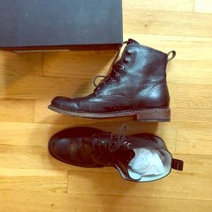 RAG AND BONE black ankle COZEN boot size 10